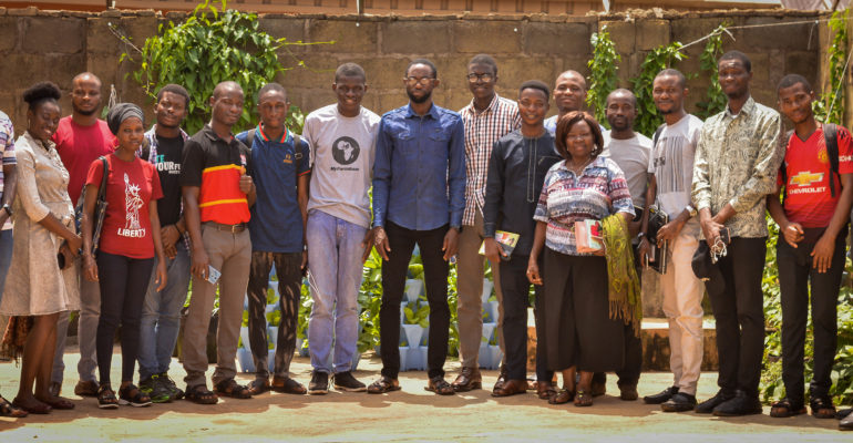 Participants of Soilless Farming Training in Abeokuta